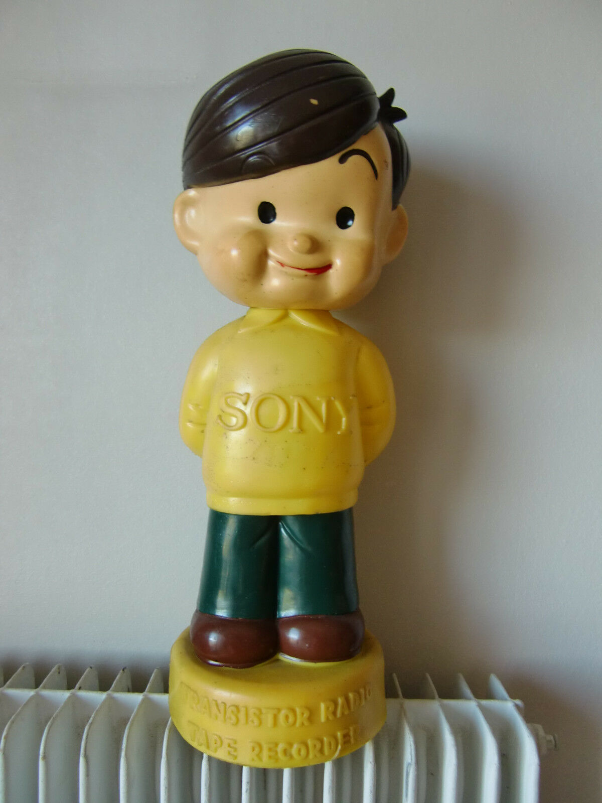 SONY ATCHAN CARTOON BOY store display for transistor radios recorders