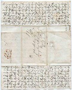 SCOTLAND-ST-ANDREWS-1828-CROSS-WRITTEN-LONG-PERSONAL-LETTER-to-JOHN-STIRLING