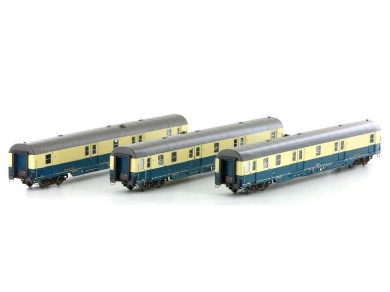 L.S. Models LS46300 3-teiliges Set Postwagen Dt. Post AG, Epoche V, Spur H0