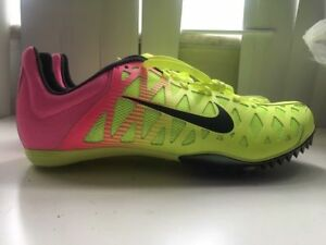 9305222a4008 NIKE ZOOM MAXCAT 4 RIO OC TRACK   FIELD SPIKES SIZE 11 VOLT PINK ...