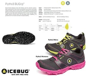 Studded New Mens Winter Bugrip Trail Icebug Womens Running Pytho3 MUzqpGVS