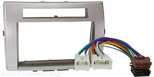 TOYOTA-Corolla-Verso-DIN-Radio-Blende-Einbau-Rahmen-ISO-Adapter-Autoradio-SET