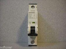 SIEMENS 5SY4110-7 CIRCUIT BREAKER 1 POLE 10A 10 AMP DIN MOUNT C CURVE