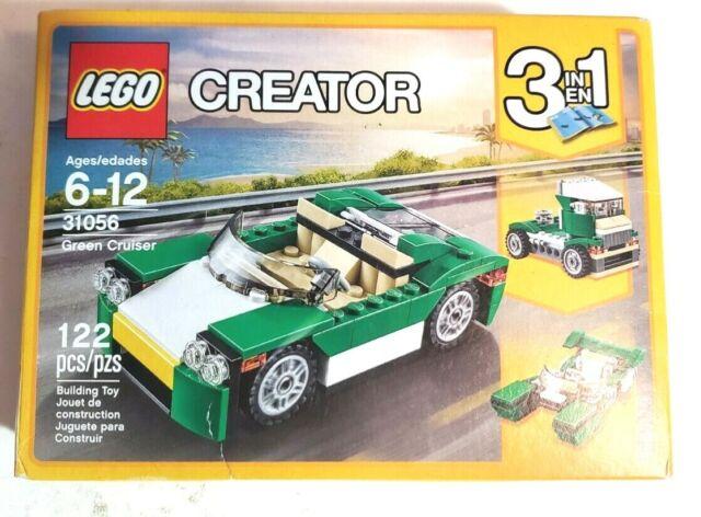New Lego CREATOR Green Cruiser 31056 Building Toy 122-pcs