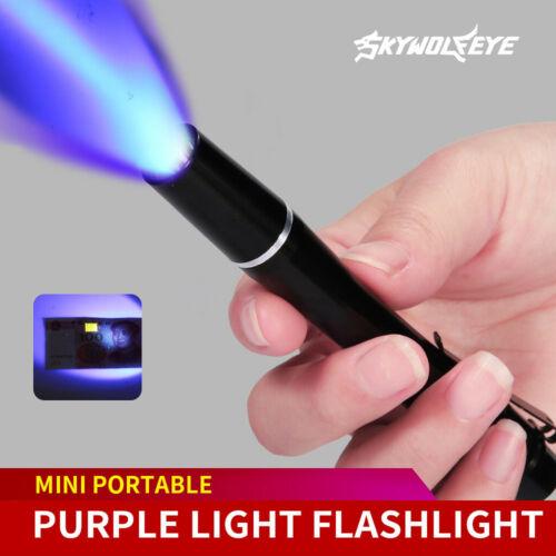 UV Ultra LED Flashlight Blacklight Light 395 nm Inspection Lamp Torch Bright