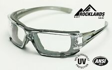 Elvex Go Specs IV Safety/Glasses/Goggles Clear A/F Foam Lined Frame Z87.1