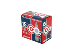 Crosman 15 qty CO2 Powerlet cartridges for Gas Powered Guns Model C2315