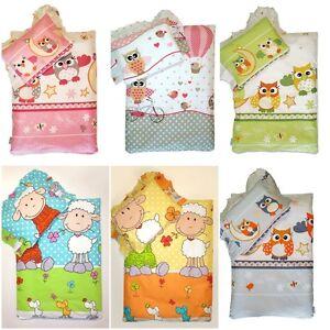Lux 4 2 Pcs Pc Crib Baby Bedding Set For Pram Moses Basket Cotton