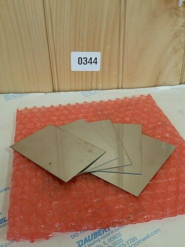 """Stainless Steel shim 0.023 2/"""" by 3/""""  Metal 24 gauge .024  2x3+ 5 piece lot"""