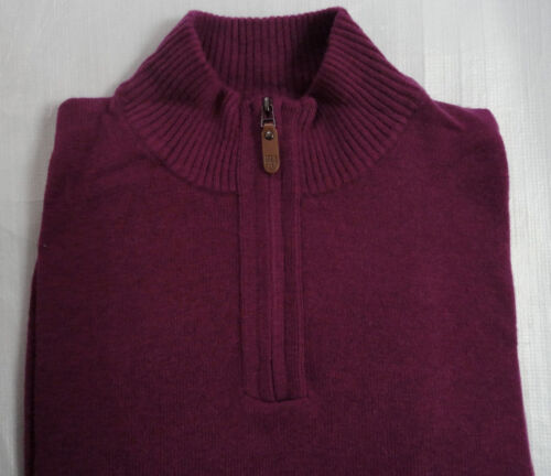 Colour Cashmere Jumper Men Rich Was With Luxuary bnwt Plum Large M Wool £55 amp;s ZR8vYvT