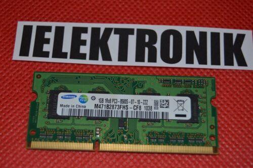 ♥✿♥ Samsung 1gb ddr3 di RAM 1rx8 pc3-8500s-07-10-zzz