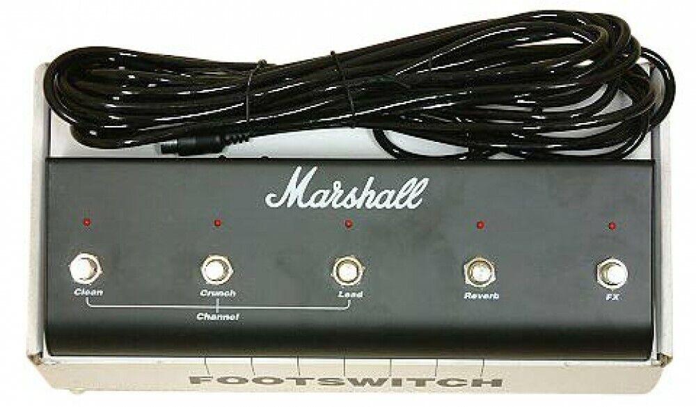 MARSHALL PEDL10021 5-Einheit Fußschalter mit LED