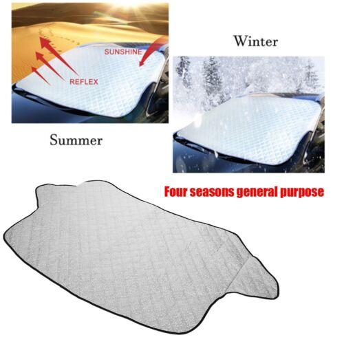 Neu Auto Windschutzscheibe Sonnenschutz Schneeschutz Abdeckung Eisschutzfolie