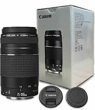 Canon EF 75-300mm f/4-5.6 III Lens for Canon Digital SLR Cameras T6 T6i T5 T5i
