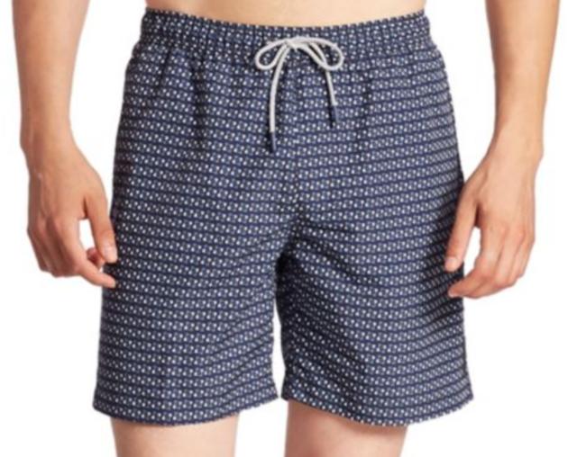 f775479a69 Michael Kors Men's Geometric Swim Trunks Midnight Size L | eBay