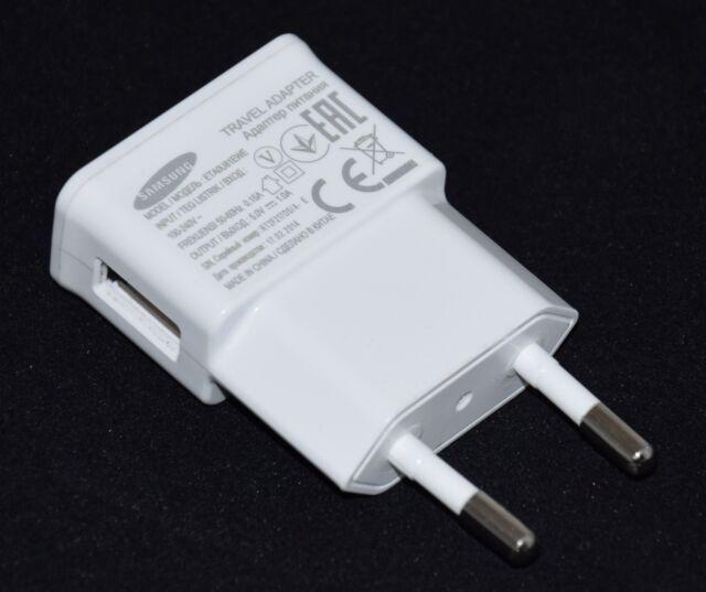 Original Samsung Aufladegerät USB Power adapter ETA0U81EWE Netzteil