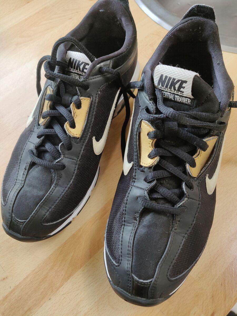Sneakers, str. 38, Nike air max, Sort hvidguld, God men