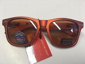 New Maxx HD Polarized Auburn Tigers Rally, Orange Sunglasses