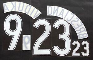 AUSTRALIA-AWAY-NOME-NUMERO-UFFICIALE-FIFA-WC-2006-OFFICIAL-NAMESET-PLAYER-SZ