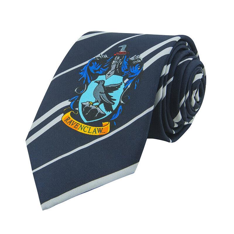 Harry Potter Ravenclaw Blue Necktie