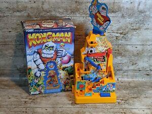 Vintage Boxed Tomy Kongman Game 1982 Tested & Working Great Fun!