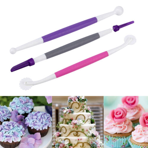 Fondant Cake Decorating Pen Flower Sugarcraft Modelling Tools Clay Cutter Tool
