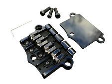 Babicz Full Contact Hardware Gibson-style 3 Point, 4 String Bass Bridge - Black
