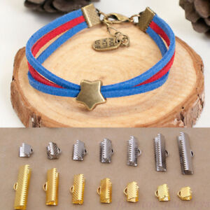 100X-Bracelet-Buckle-Clasp-Lobster-Screw-Connector-For-Jewelry-Making-DIY-Manual