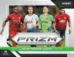 2019-20 年帕尼尼 Prizm 英語英超聯賽足球 Hobby 盒預售 9/20