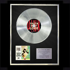PINK THE TRUTH ABOUT LOVE   CD PLATINUM DISC FREE P+P!!