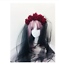 Lolita Elk Horn Sheep HornHeadband Cosplay Demon Evil Gothic Handmade Hair Clip