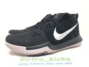 640a520a650d2 852395 010 NIKE KYRIE III 3 BLACK WHITE SILT RED BASKETBALL SHOES ...