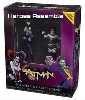 The Joker & Harley Quinn Masterpiece Figurine Set Eaglemoss Suicide Squad Movie