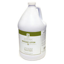 Master Massage 100% Natural Unscented Water Soluble Therapeutic Lotion 1 Gallon
