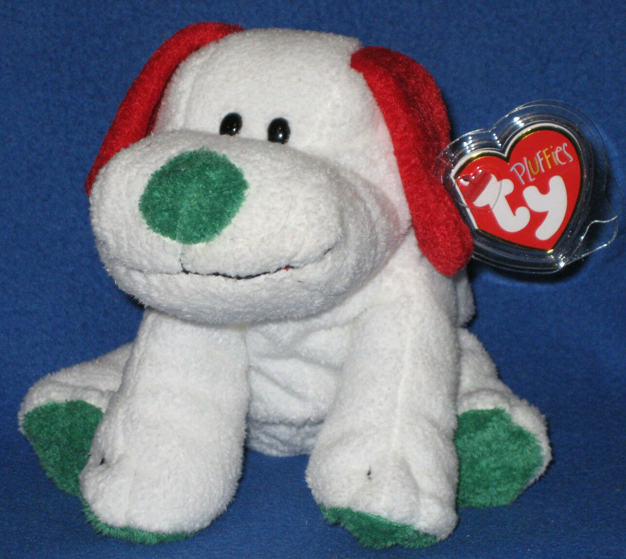 FROST the DOG - TY PLUFFIES - MINT with MINT TAG