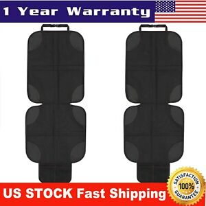NEW-Car-Seat-Protector-Cover-2-Pack-Black-2019-Deluxe-Model-Best-Child-Seat-Pad