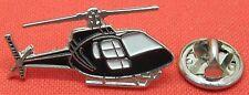 Helicopter Chopper Lapel Hat Tie Cap Pin Badge Aviator Aircraft Pilot Brooch