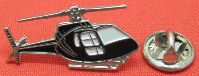 Helicopter Chopper Lapel Hat Tie Cap Pin Badge Aviator Aircraft Pilot Brooch