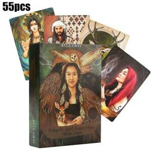 Full-English-55-Tarot-Cards-Deck-and-Guidebook-Angels-and-Ancestors-Oracle-Cards