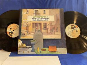 JIMI HENDRIX EXPERIENCED/AXIS 2LP BARCLAY 80581/2 MOEBIUS ORIGINAL FRANCE LP EXC