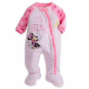 Lower Price with Disney Minnie Mouse Catch A Falling Star' Fleece Blanket Sleeper Baby Girl 9-12m Traveling Clothing, Shoes & Accessories Girls' Clothing (newborn-5t)
