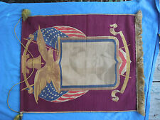 WW1(?) son in service banner with photo of sailor