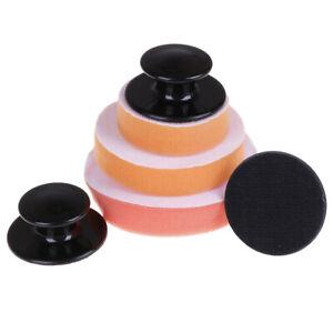 Car-Wax-Wash-Polish-Pad-Sponge-Cleaning-Foam-Kit-Microfiber-Applicator-PadsDD