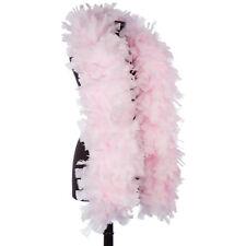 Light Pink 150 Gram Turkey Feather Boas - Turkey Ruff - Halloween Costumes