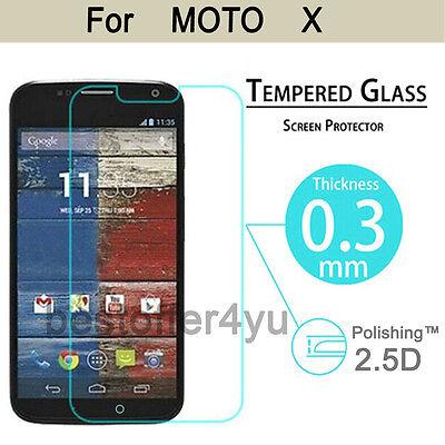 Genuine Tempered Glass Film Guard Screen Protector For Motorola Moto X