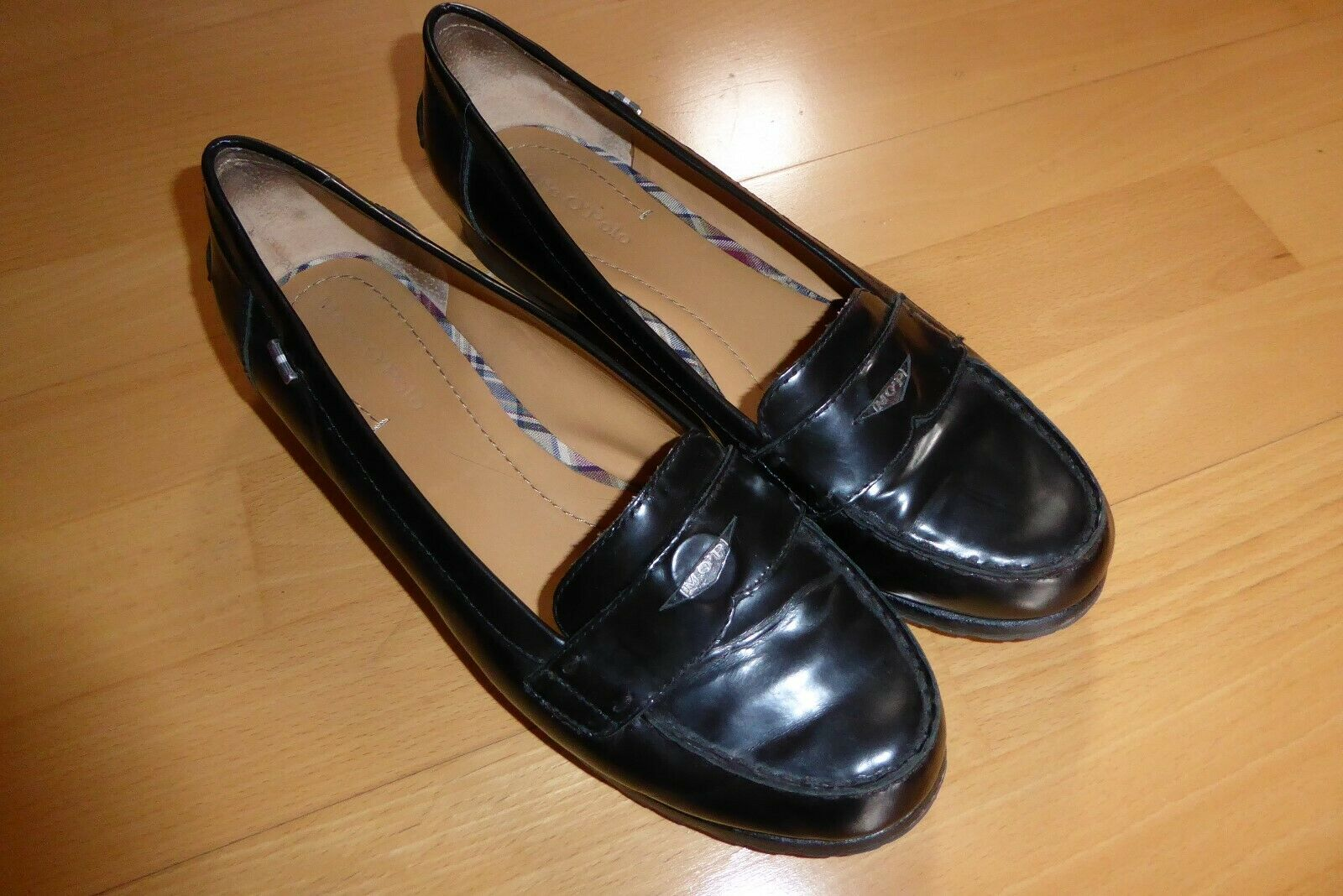 Marc O´Polo Damen Slipper Gr. 41 schwarz