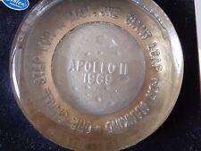 Vtg Fenton Glass Apollo II Paperweight  Original Box Moon Landing One Small Step