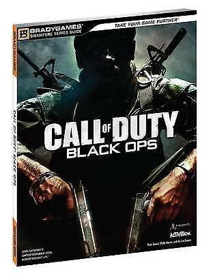 """""""AS NEW"""" Call of Duty: Black Ops Signature Series (Bradygames Signature Guides),"""