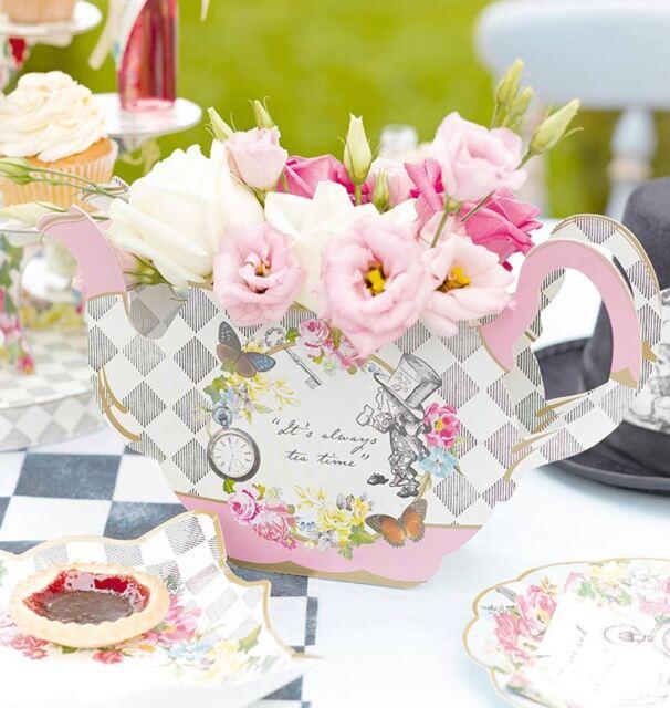 Talking Tables Truly Alice In Wonderland Teapot Vase Table