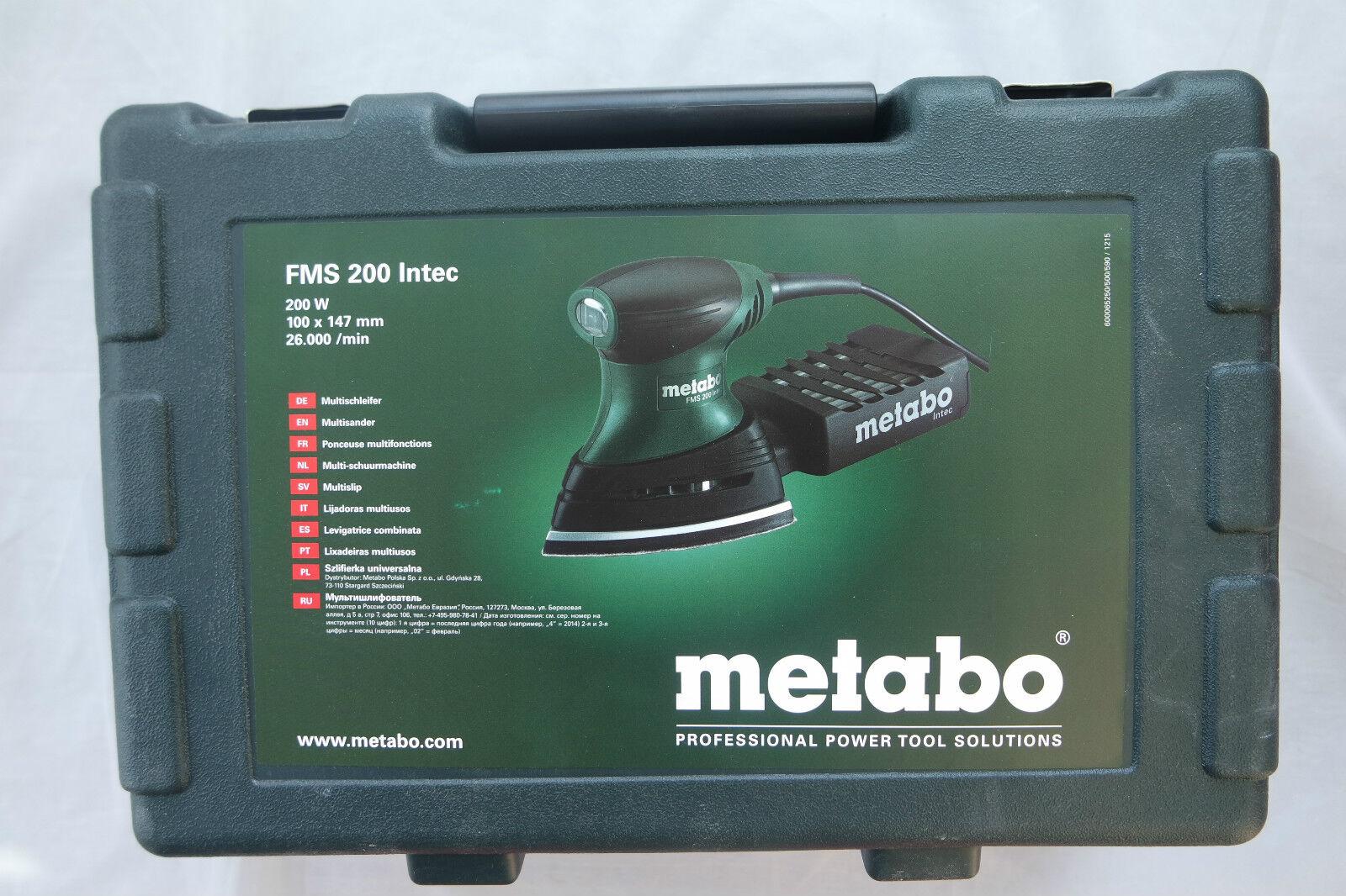 Metabo Multischleifer FMS 200 Intec